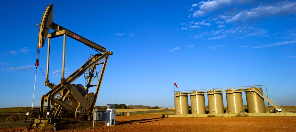 North Dakota oil fields